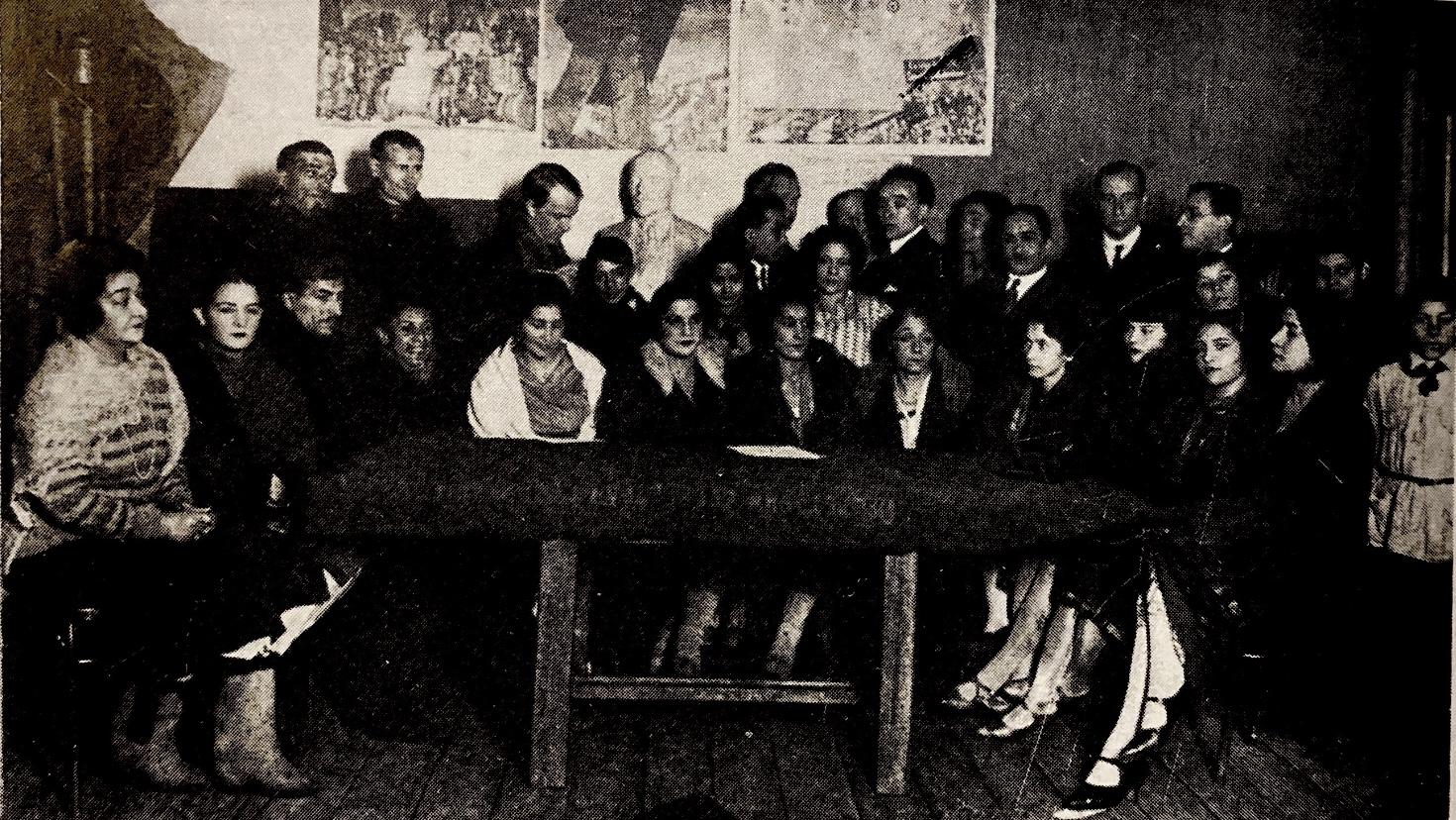 Первое собрание труппы