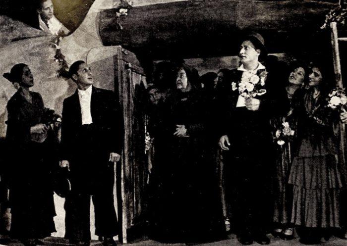 """Спектакли """"Кровавая свадьба"""" и """"Цыгане"""" 1938 г."""